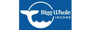 Bigg Whale Income Logo