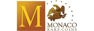 Monex, formerly Monaco Rare Coins Logo