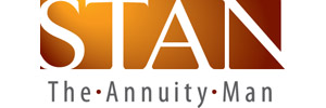 "Stan ""The Annuity Man""                                                                               Logo"