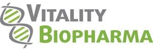 Vitality Biopharma Inc. Logo