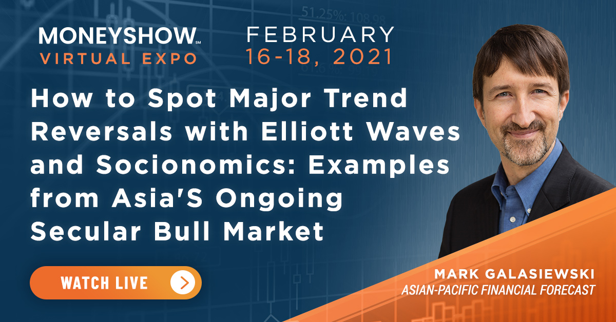 How to Spot Major Trend Reversals with Elliott Waves and Socionomics: Examples from Asia's Ongoing Secular Bull Market