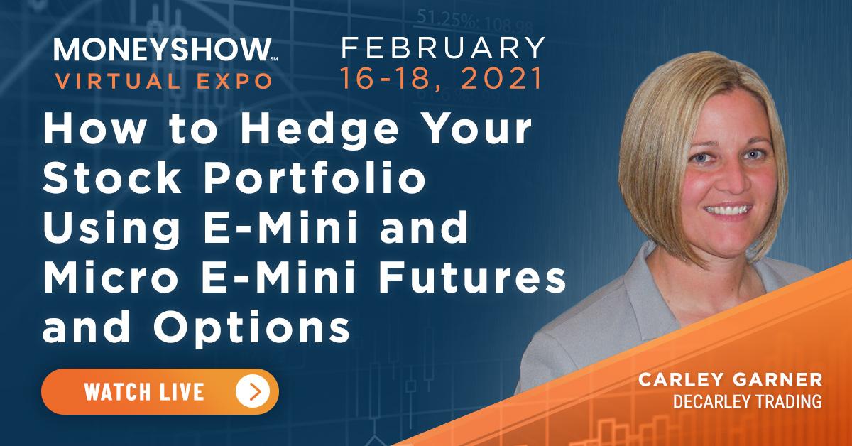 How to Hedge Your Stock Portfolio Using E-mini and Micro E-mini Futures and Options