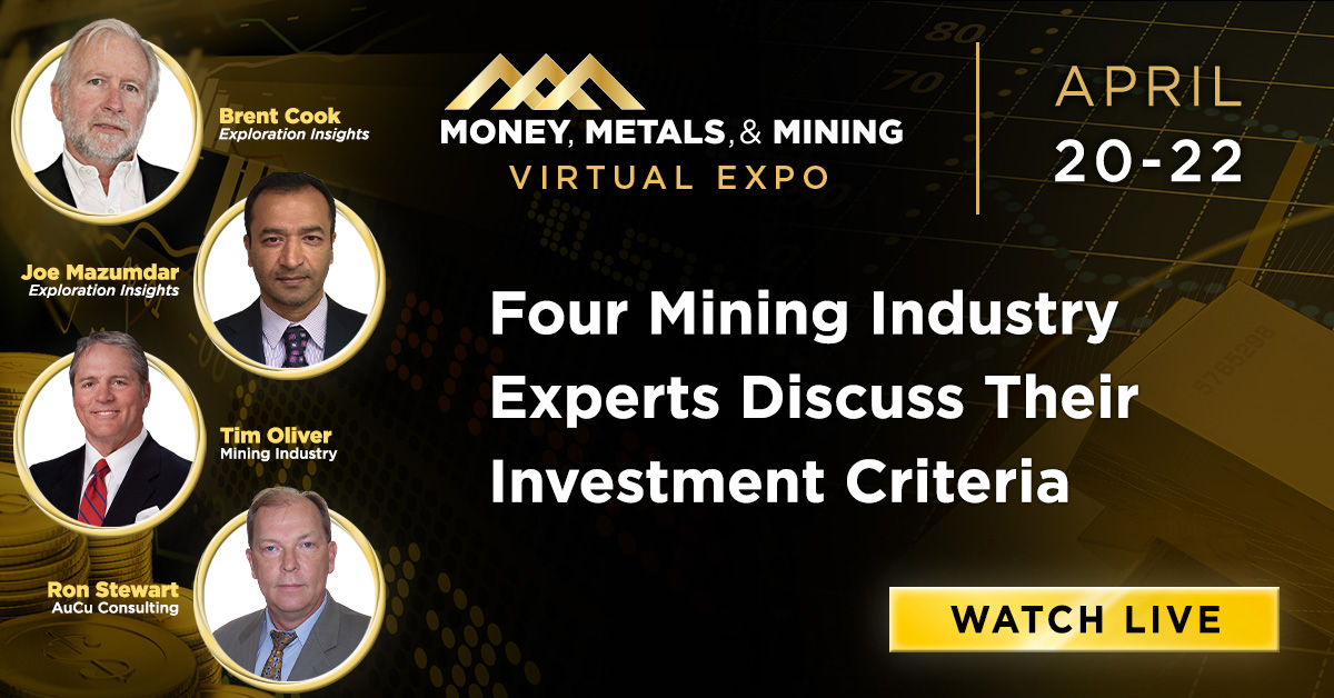 Four Mining Industry Experts Discuss Their Investment Criteria