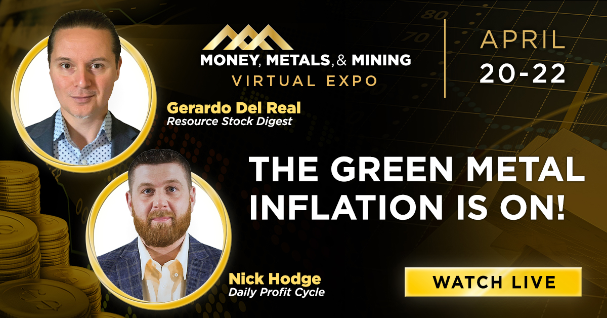 The Green Metal Inflation Is On!