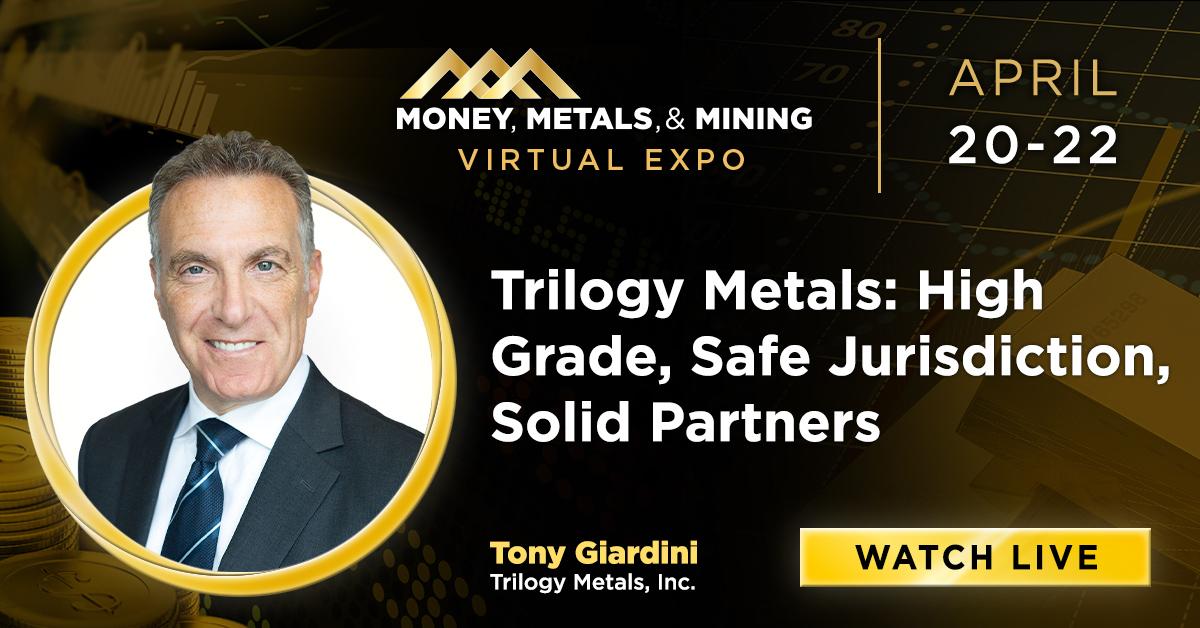 Trilogy Metals: High Grade, Safe Jurisdiction, Solid Partners