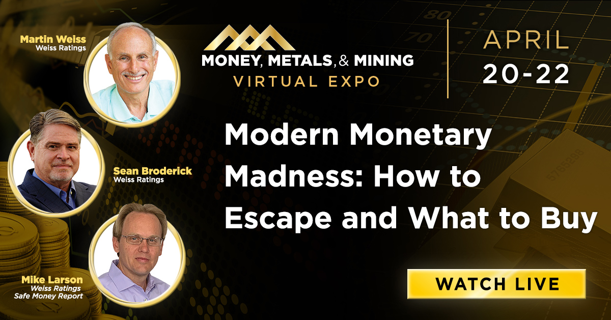 Modern Monetary Madness: How to Escape and What to Buy