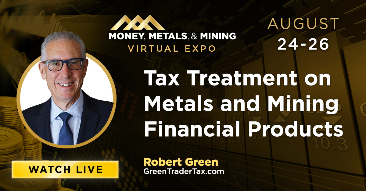 Tax Treatment on Metals and Mining Financial Products