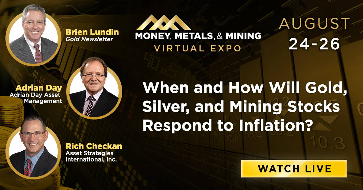 When and How Will Gold, Silver, and Mining Stocks Respond to Inflation?