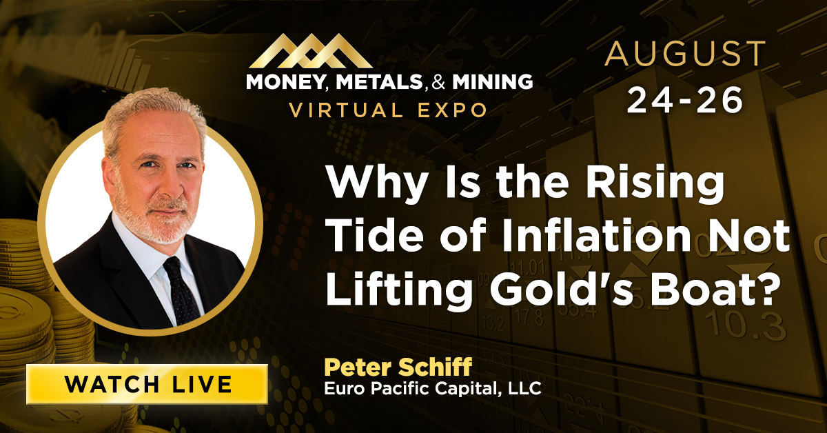 Why Is the Rising Tide of Inflation Not Lifting Gold's Boat?