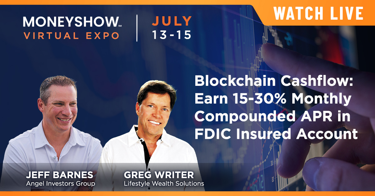 Blockchain Cashflow: Earn 15-30% Monthly Compounded APR in FDIC Insured Account