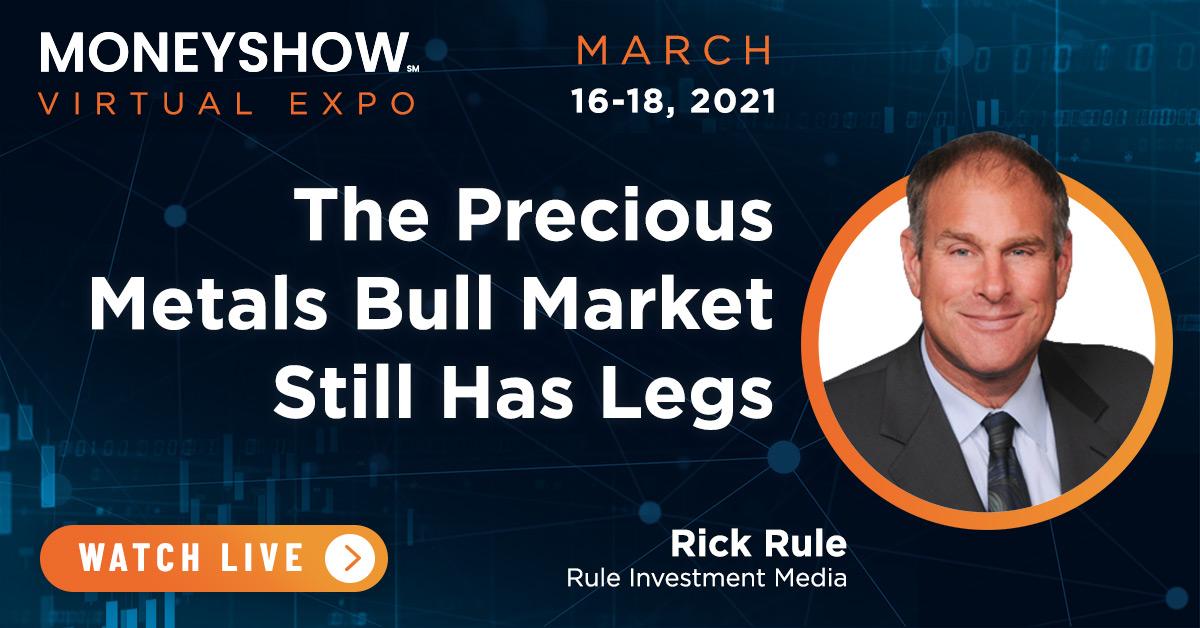 The Precious Metals Bull Market Still Has Legs